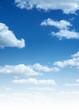 Leinwandbild Motiv Sky and clouds vertical photo