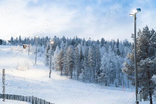 Photographie  Lapland landscape