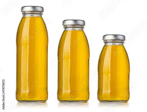 Fototapeta butelka soku jabłkowego