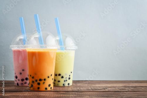 Various Bubble Tea