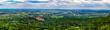Panorama vom Rhein-Main-Gebiet und Königstein im Taunus
