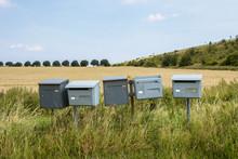 Alte Briefkästen Am Kornfeld