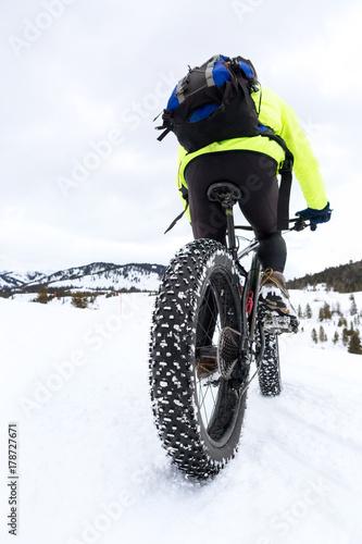 Zdjęcie XXL Rower górski z grubą oponą