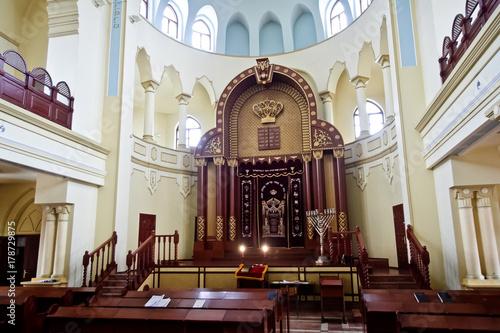 Valokuvatapetti Kharkiv Choral Synagogue interior