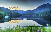 Capilano Reservoir Lake Snowy ...