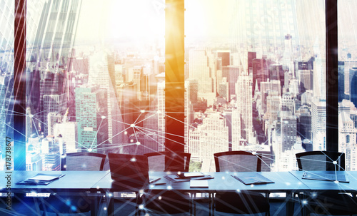 Zdjęcie XXL Biuro biznesowe z efektem sieci