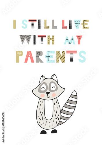 nadal-mieszkam-z-rodzicami-slodkie-zabawne-recznie-rysowane-plakat-przedszkola-z-napisem-w-skandynawskim-stylu