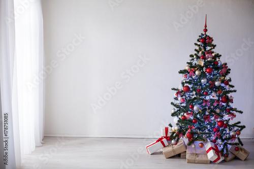 In de dag Retro Christmas tree Christmas decoration gifts