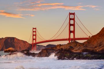 Golden Gate bridge in San Francisco, USA