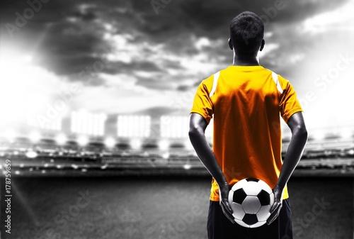 Obraz na plátně  Soccer.