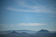 Mysterious Distant Blue Hills ...