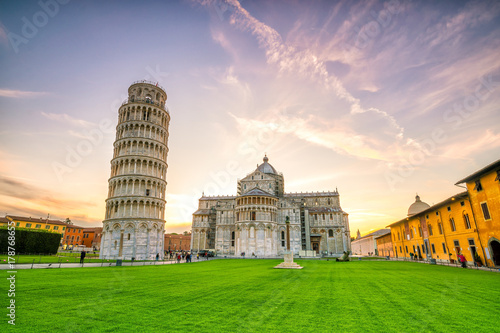 Pisa Cathedral and the Leaning Tower