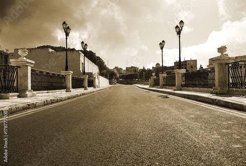 Zdjęcie XXL Ulica w Birgu