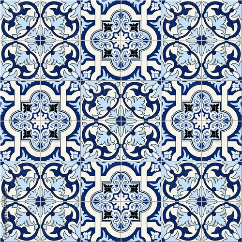 przepiekny-wzor-bialy-niebieski-marokanski-portugalskie-kafelki-azulejo-ozdoby-moze-byc-stosowany-do-tapet-wypelnien
