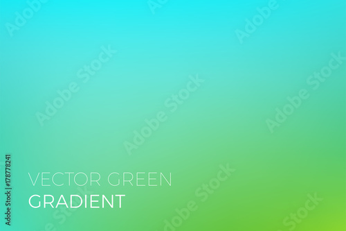 green color gradient background vector turquoise backdrop design