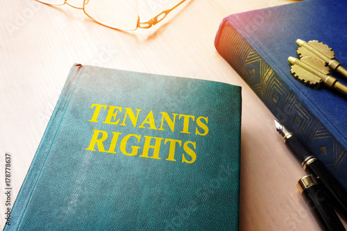 Tenants rights and keys from apartments. Fototapet
