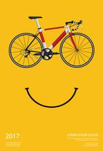Cycling Poster Vector Illustra...