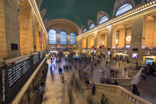 Fotografía New York, United States of America - May 20, 2017: Inside view of the main hall