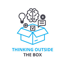 Thinking Outside The Box Conce...