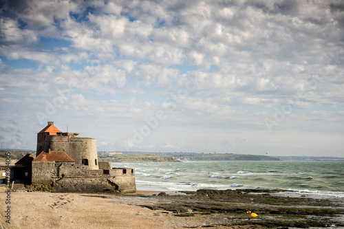 Photo Fort d' Ambleteuse, also called Vauban fort or Fort Mahon , is a fort located on