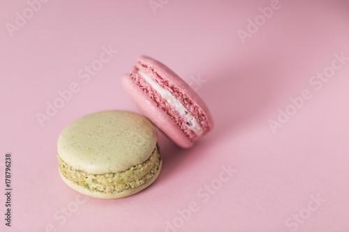 Staande foto Macarons macarons mise en scène
