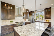 Luxury Kitchen In A New Constr...