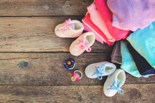 Baby Shoes, Clothing And Pacif...