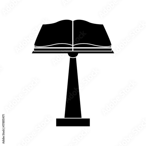 Holy bible open icon vector illustration graphic design