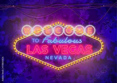 Photo  Neon Las Vegas Sign