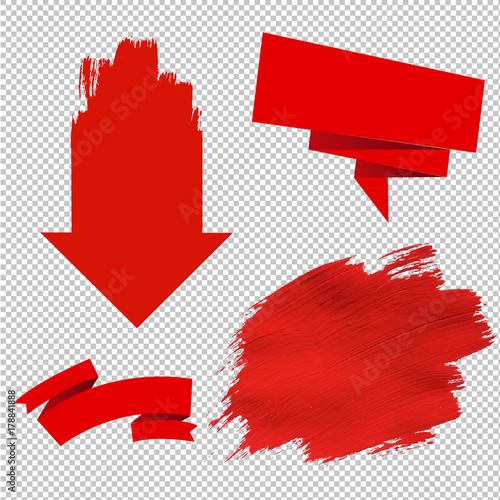 Fotografia Red Sale Symbol
