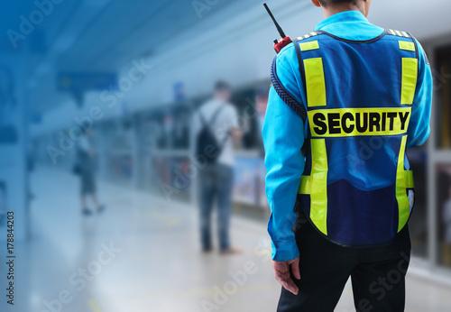 Professional Security guard Wallpaper Mural