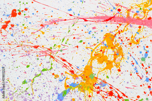 Poster  Pollock  art texture graphic drawn backdrop wallpaper