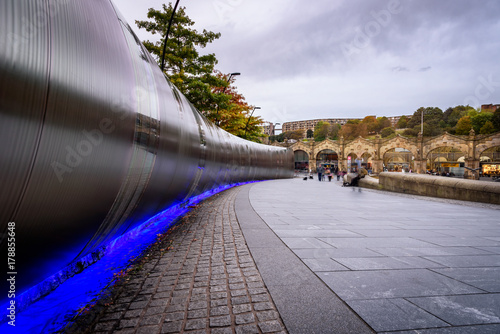 Foto op Plexiglas Treinstation Train Station Sheffield UK
