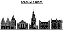 Belgium, Bruges Architecture S...