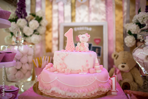 Miraculous Birthday Cake For An 1 Year Old Child Buy This Stock Photo And Funny Birthday Cards Online Alyptdamsfinfo