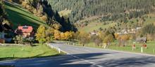 Alpine Village Hinterkoflach In The Municipality Of Reichenau, Feldkirchen District, State Of Carinthia, Austria.