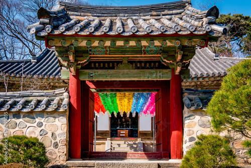 Poster Pekin Korean Temple
