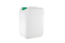 White Plastic Container Isolat...