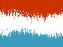 Luxembourg Flag Design Concept. Flag Textured By Grungy Wood Pattern. Image Relative To Travel And Politic Themes