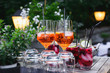 canvas print picture - cocktail auf dem event