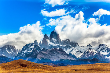 Argentine. Desert and mountains