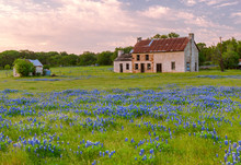 An Old Rustic House Sits Nestl...
