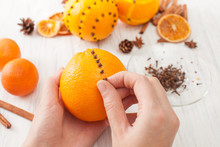 Decoration Orange With Cloves ...