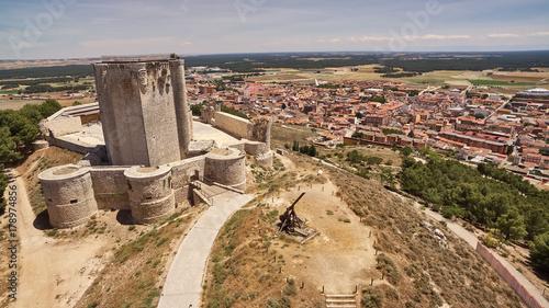 Castle of Iscar in Valladolid, Spain