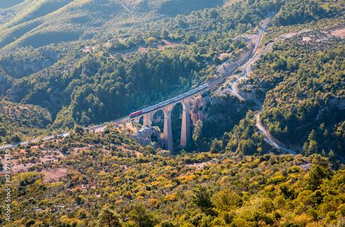 Photo  Varda railway bridge, Adana Turkey