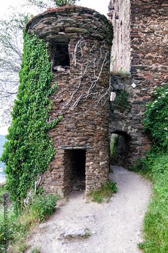 Plakat Rheinfels Castle Niemcy