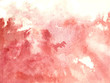 Watercolor red background - wet background