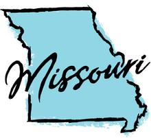 Hand Drawn Missouri State Design