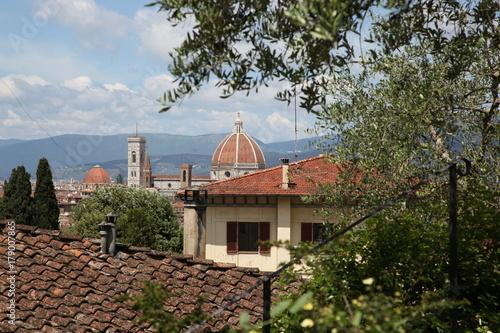 Obraz na dibondzie (fotoboard) Duomo Florencja Tuscany Włochy