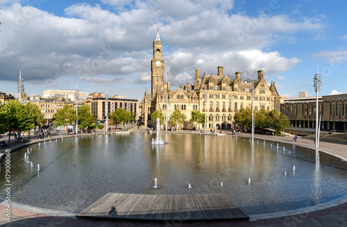 Plakat Bradford city park Yorkshire